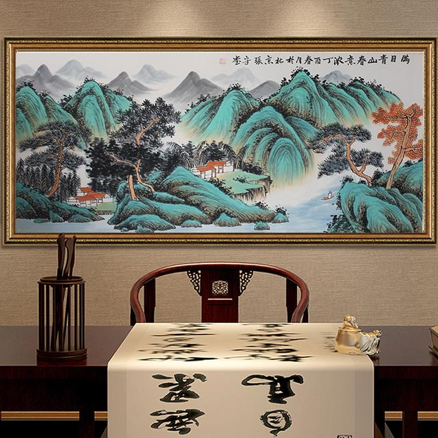 不管客厅大小,客厅一定要挂这几幅画,其中大有讲究,气派显档次