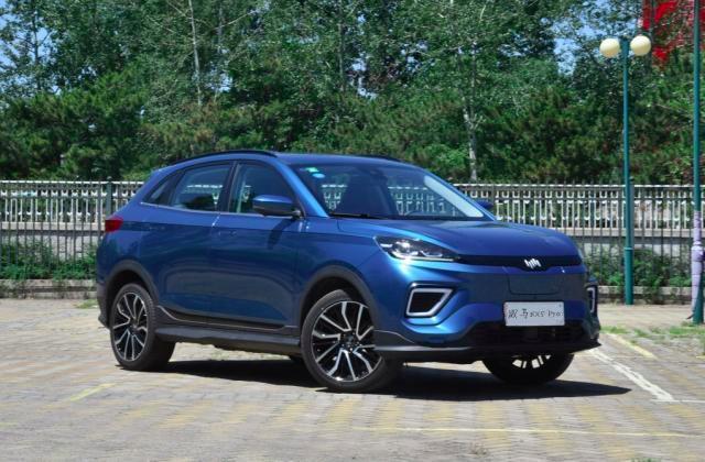 威马EX5,高科技、智能纯电SUV车型,续航里程520公里,20万以内