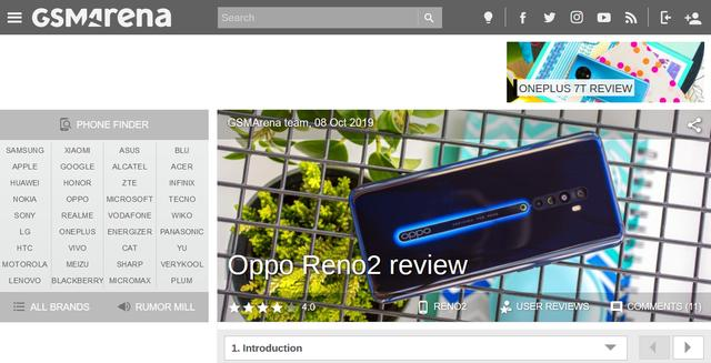 OPPOReno2值得入手吗?看看全球最大科技媒体的测评