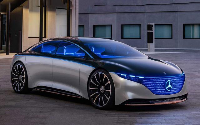 奔驰VisionEQS概念将亮相法兰克福车展,科幻漂亮,续航700公里
