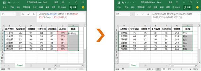 掌握Excel引用函数,快速掌握数据位置