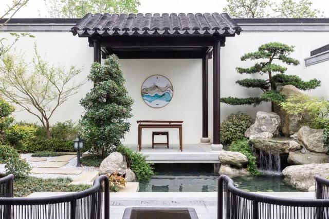 319㎡最美新中式,触目皆诗意,这个园林庭院美到我了