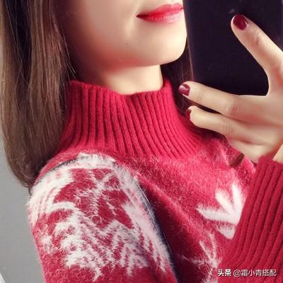 这是今年流行的毛衣,穿上特别高档有漂亮,女人穿,高雅贵气