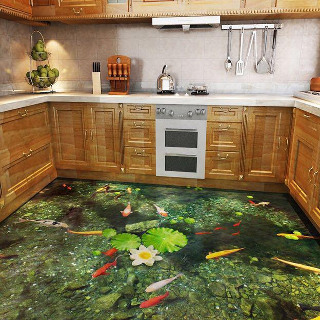 """浙江""""软地板""""一出,瓷砖不吃香了!换墙贴,全屋环保高级还不贵"""