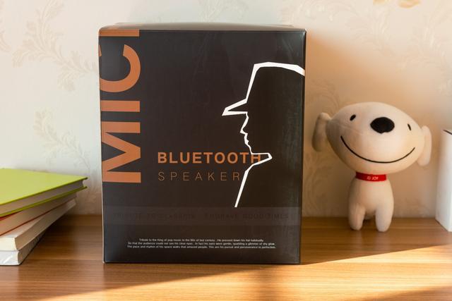 一款时尚有特色的桌面蓝牙音箱,向经典致敬的音磅Michael