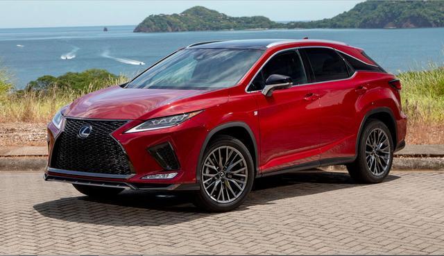 2020款雷克萨斯RX海外版售价32-36.5万元,标配8AT比国内版配置高