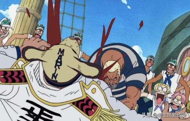 海贼王:被海军严重遗忘的三个人物,一人已经封神,一人美白成功