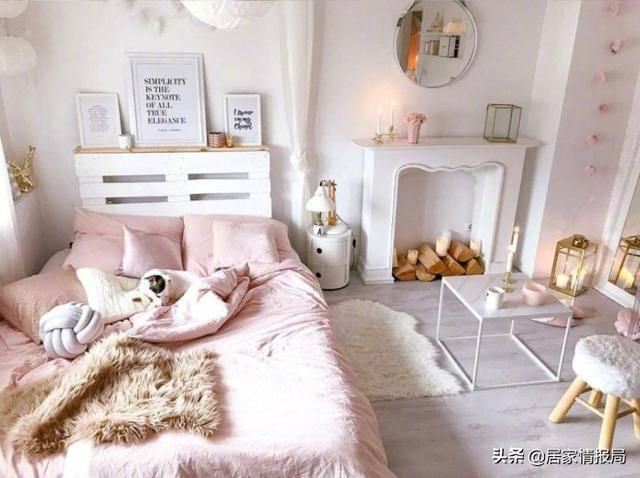 打造少女心卧室,只要三招
