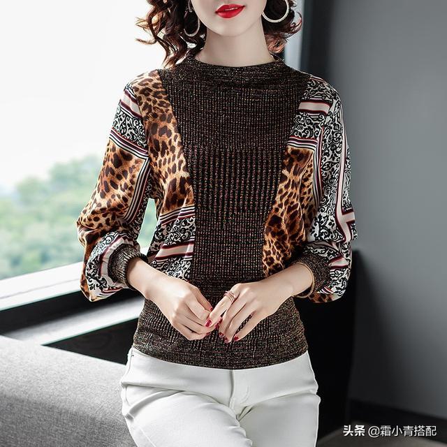 这几款打底衫最合适,优雅的气质,十足女神范