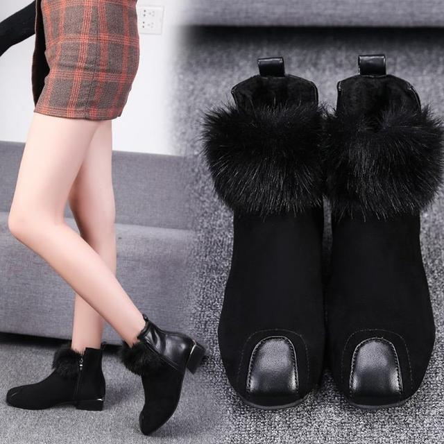 """真漂亮,这""""毛毛鞋""""终于出新啦!时髦保暖不累脚,真的好时髦"""