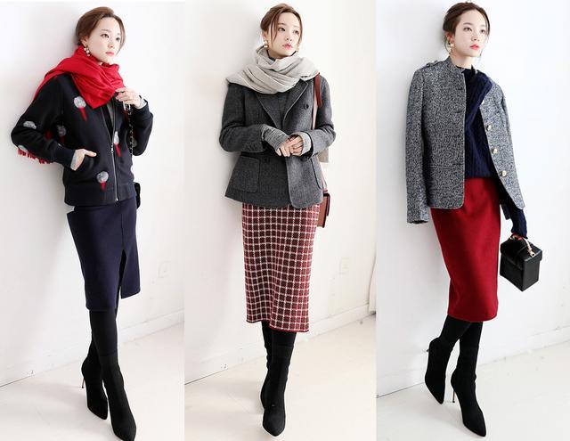 秋冬的大衣+连衣裙,让40岁的你举手投足间,尽显气质柔美