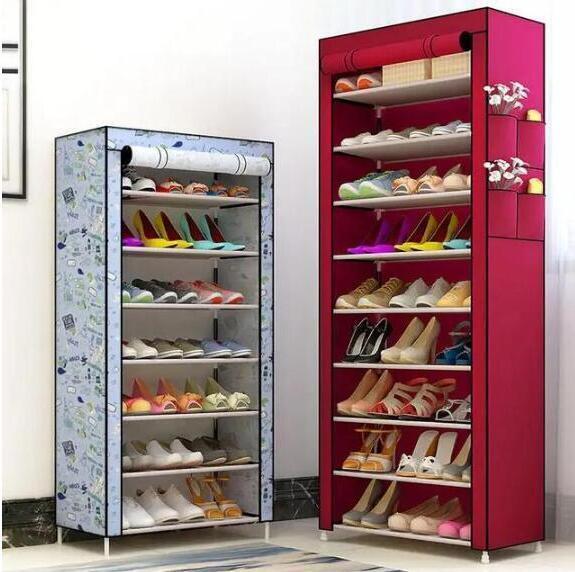 """别一回家鞋子就堆在门口,这款""""精致""""鞋柜,鞋子变的井井有条"""