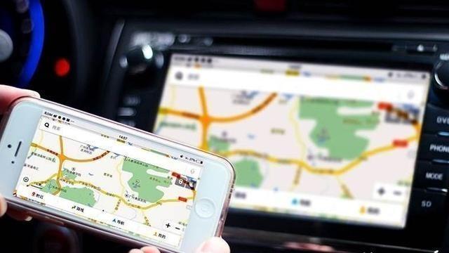 怎么把手机导航同步到车屏?一小巧招,中控同屏一目了然,高明