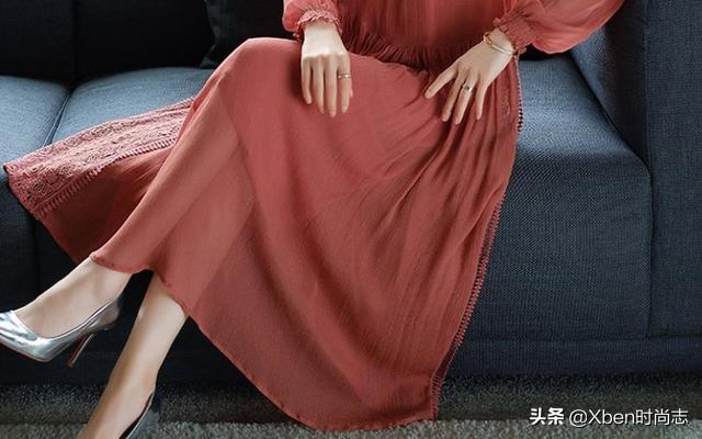 """去踏青,才发现,满街女人都穿这""""教师裙"""",美的动人心弦"""