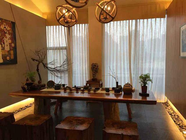 在家建高品位的茶室,离不开五觉的运用,尤其是音乐对意境的渲染