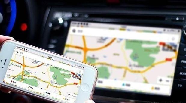怎样将手机导航同步到汽车中控屏上?1个笨方法,高级变大屏